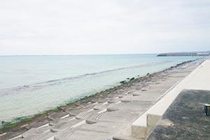 宜野座漁港外海